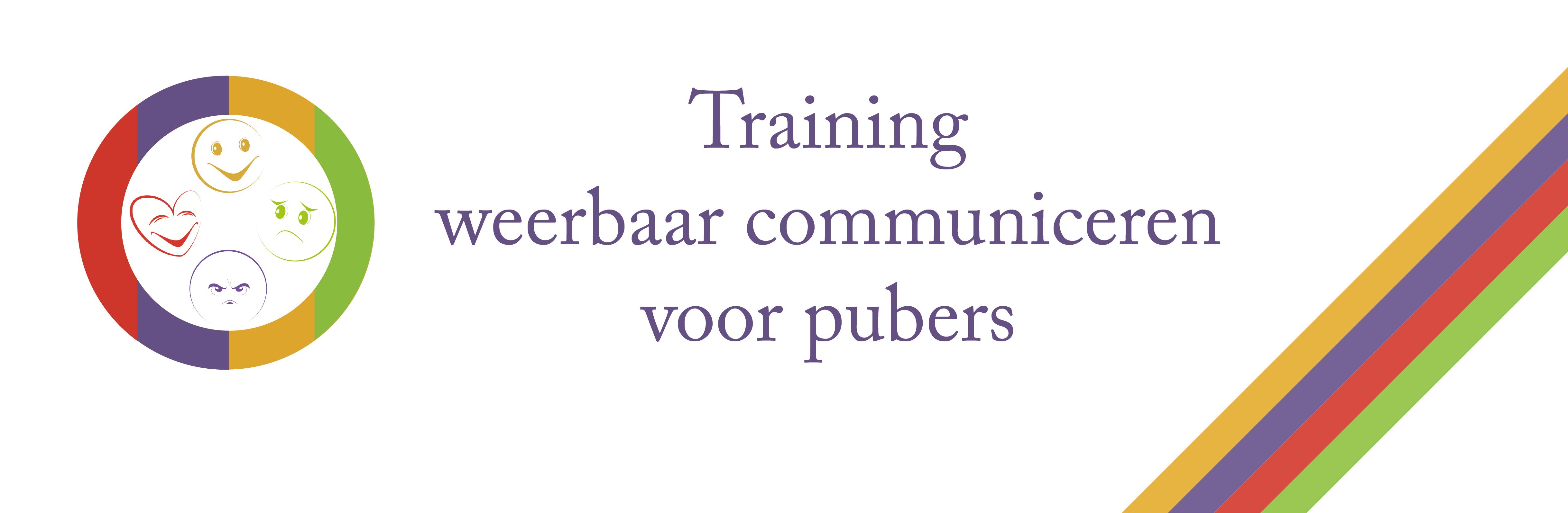 Banner Weerbaar communiceren voor pubers